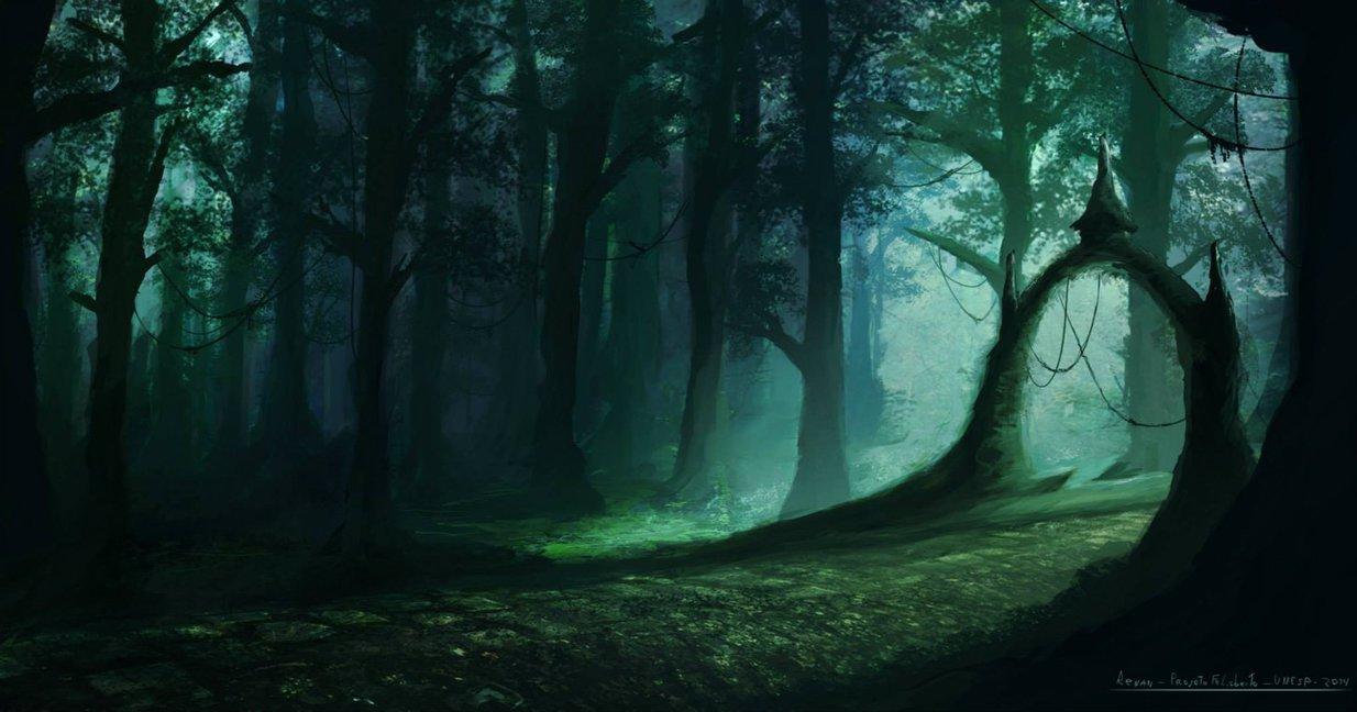 fantasy_forest_by_renanrdgs-d7wt6hq